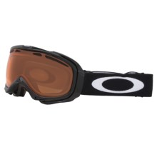 Oakley Elevate Snowsport Goggles in Jet Black/Persimmon - Closeouts