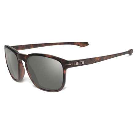 Oakley Enduro Sunglasses - Asia Fit in Matte Brown Tortoise/Dark Grey - Closeouts