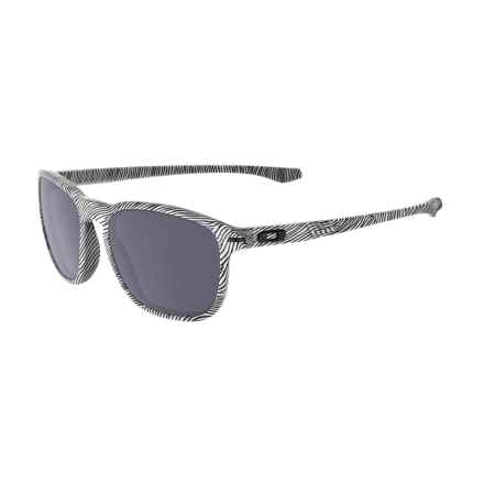 Oakley Enduro Sunglasses in Fingerprint White/Grey - Closeouts