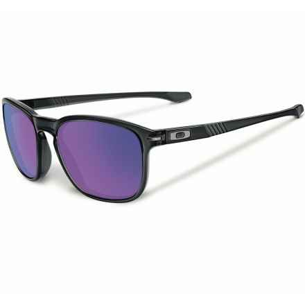 Oakley Enduro Sunglasses - Iridium® Lenses, Asia Fit in Black Ink/Violet Iridium - Closeouts