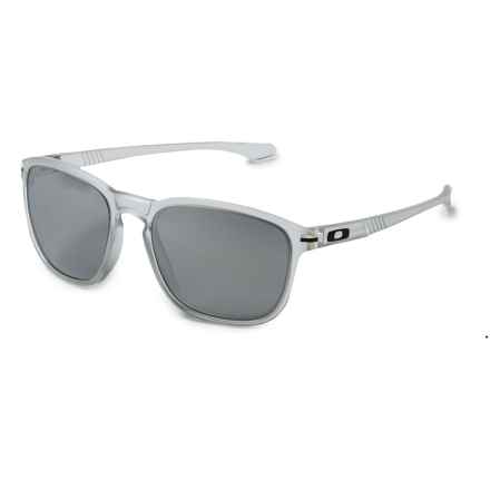Oakley Enduro Urban Jungle Sunglasses - Iridium® Lenses in Matte Clear/Chrome Iridium - Overstock