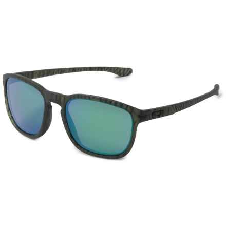 Oakley Enduro Urban Jungle Sunglasses - Iridium® Lenses in Matte Olive/Ink/Jade Iridium - Overstock