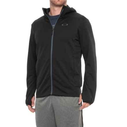 Oakley Enhance Tech Fleece Jacket (For Men) in Blackout - Closeouts