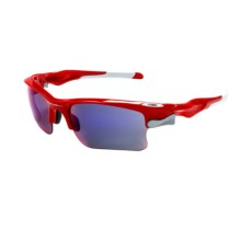 Oakley Fast Jacket Sunglasses - Interchangeable, Iridium® Lenses in Infrared/ Red - Closeouts