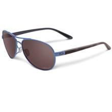 Oakley Feedback Sunglasses - Polarized (For Women) in Wisteria Pearl/Black Iridium - Closeouts