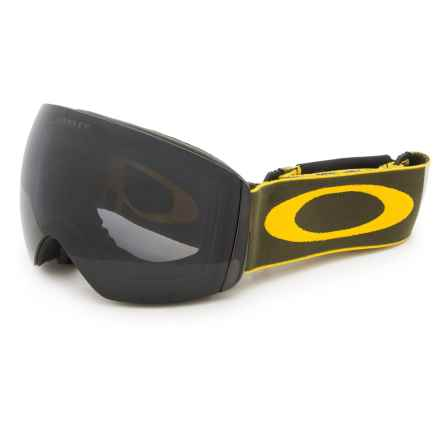 Oakley Flight Deck XM Ski Goggles in Flight Series Havoc/Dark Grey - Closeouts