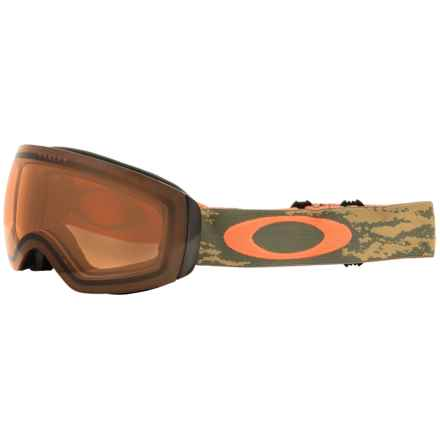 Oakley Flight Deck XM Ski Goggles in Sheridan Copper Olive/Persimmon - Closeouts