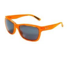 Oakley Forehand Sunglasses - Iridium® Lenses (For Women) in Neon Orange/Black Iridium - Closeouts