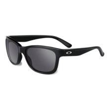 Oakley Forehand Sunglasses - Polarized Iridium® Lenses (For Women) in Polished Black/Black Iridium - Closeouts
