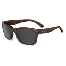 Oakley Forehand Sunglasses - Polarized Iridium® Lenses (For Women) in Tortoise/Vr28 Black Iridium - Closeouts