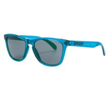 Oakley Frogskin Sunglasses in Acid Blue/Grey - Closeouts