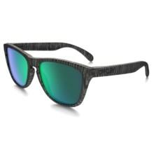 Oakley Frogskins Collection Sunglasses - Iridium® Lenses in Urban Jungle Matte Olive Ink/Jade Iridium - Closeouts