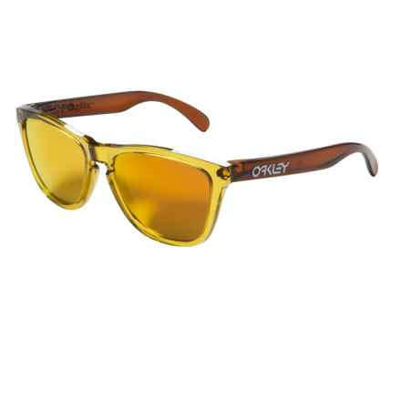 Oakley Frogskins Moto Sunglasses - Iridium® Lenses in Octane/Fire Iridium - Closeouts