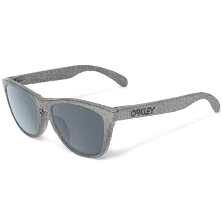 Oakley Frogskins Sunglasses - Asia Fit in Smoke/Grey - Closeouts