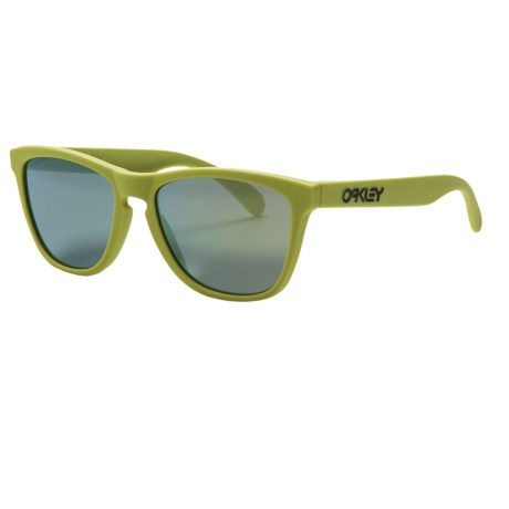 Oakley Frogskins Sunglasses - Iridium® Lenses in Aspen Green/Emerald Iridium