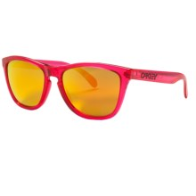 Oakley Frogskins Sunglasses - Polarized, Iridium® Lenses in Acid Pink/Fire Iridium - Closeouts