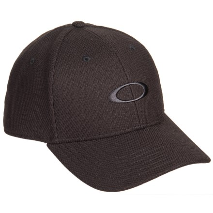 c487cb50842f2 Oakley Golf Ellipse Baseball Cap (For Men) in Black - Closeouts