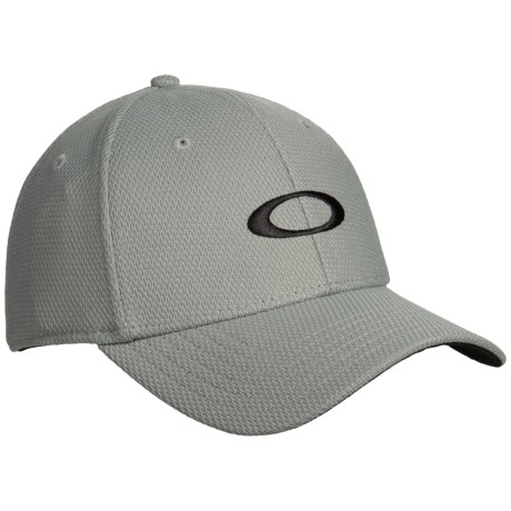 Oakley Golf Ellipse Baseball Cap (For Men) in Stone Gray 888b19c9db0