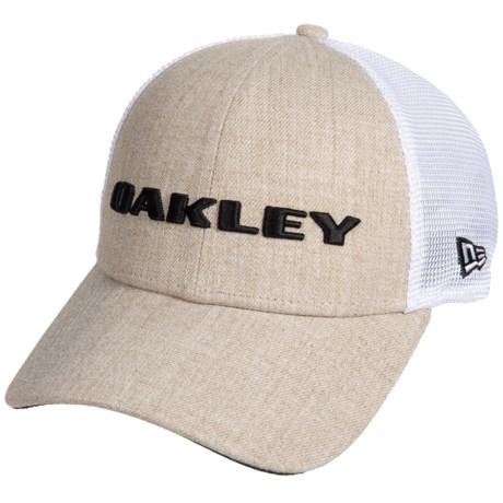 bd60561a4ae Oakley Heather New Era Trucker Hat (For Men) - Save 51%