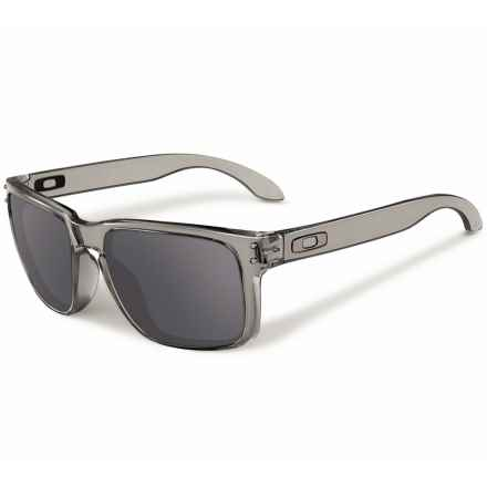 Oakley Holbrook Ink Sunglasses - Iridium® Lenses in Grey Ink/Black Iridium - Closeouts