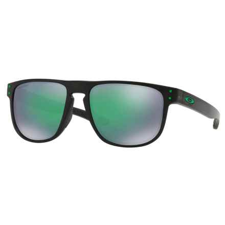 Oakley Holbrook R Sunglasses - Plutonite® Mirror Prizm Lenses in Black Ink/Prizm Jade - Closeouts