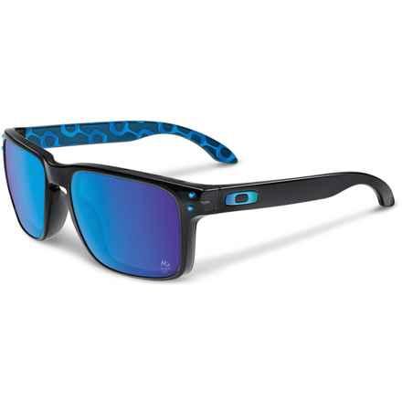 Oakley Holbrook Rio 2016 Sunglasses - Iridium® Lenses in Black Ink/Sapphire Iridium - Closeouts
