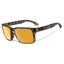 Oakley Holbrook Sunglasses - Iridium® Lenses in Urban Jungle Matte Sepia/24K Iridium - Closeouts