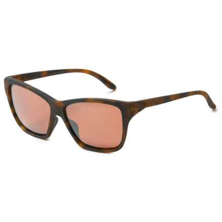Oakley Hold On Sunglasses - Polarized Iridium® Lenses (For Women) in Matte Tortoise/Vr28 Black Iridium - Overstock