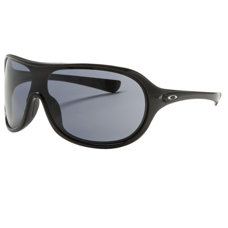 Oakley Immerse Sunglasses (For Women) in Polished Black/Grey