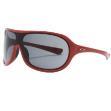 Oakley Immerse Sunglasses (For Women) in Red Carpet/Grey - Closeouts