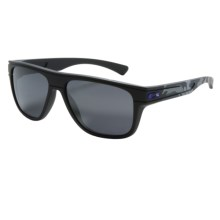 Oakley Infinite Hero Breadbox Sunglasses - Iridium® Lenses in Matte Carbon/Black Iridium - Closeouts