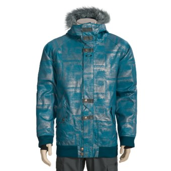 Oakley Landic Ski Jacket - Waterproof, Insulated (For Men) in Legion Blue/Foil