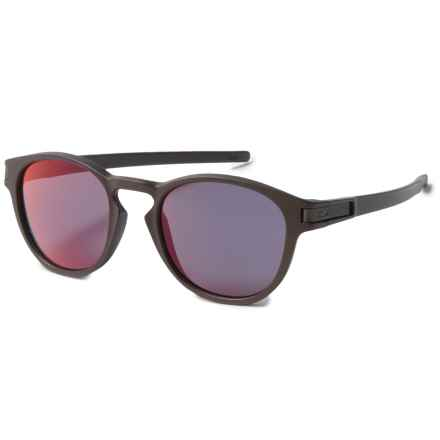 Oakley Latch Sunglasses - Iridium® Lenses in Corten/Torch Iridium - Overstock