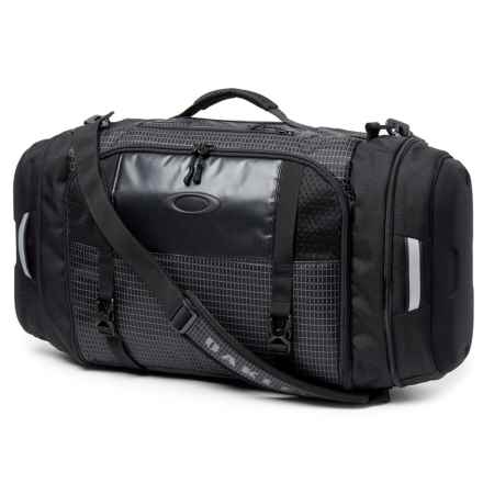 Oakley Link Duffel Bag in Jet Black - Closeouts