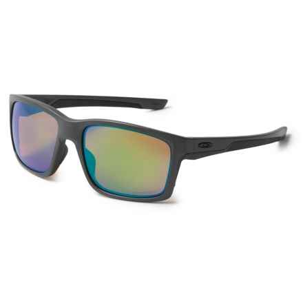 Oakley Mainlink Prizm® Shallow Water Sunglasses - Polarized Plutonite® Lenses in Steel - Overstock