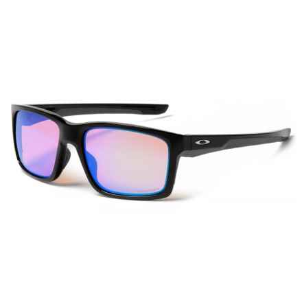 Oakley Mainlink Prizm® Sunglasses (For Men) in Polished Black - Closeouts