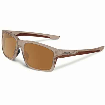 Oakley Mainlink Sunglasses - Polarized, Iridium® Lenses in Matte Sepia/Tungsten - Overstock