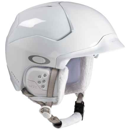 Oakley Mod5 Ski Helmet (For Men) in Polished White - Closeouts