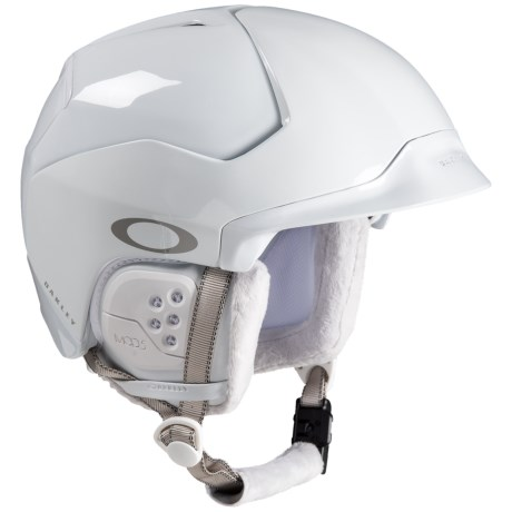 b9f58d4ddaa Oakley Mod5 Ski Helmet (For Men) in Polished White