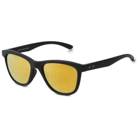 Oakley Moonlighter Sunglasses - Polarized, Iridium® Lenses (For Women) in Matte Black - Overstock
