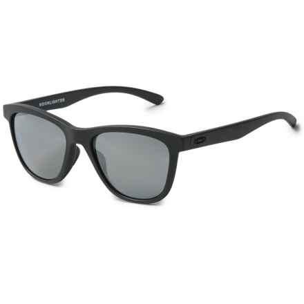 Oakley Moonlighter Sunglasses - Polarized, Iridium® Lenses (For Women) in Steel/Black - Overstock