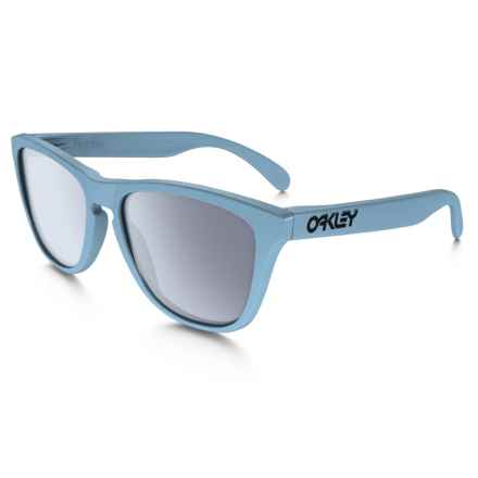 Oakley MPH Frogskins Sunglasses in Polished Blue/Grey - Closeouts