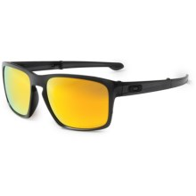 Oakley MPH Sliver F Sunglasses - Polarized Iridium® Lenses in Matte Black Ink/Fire Iridium - Closeouts