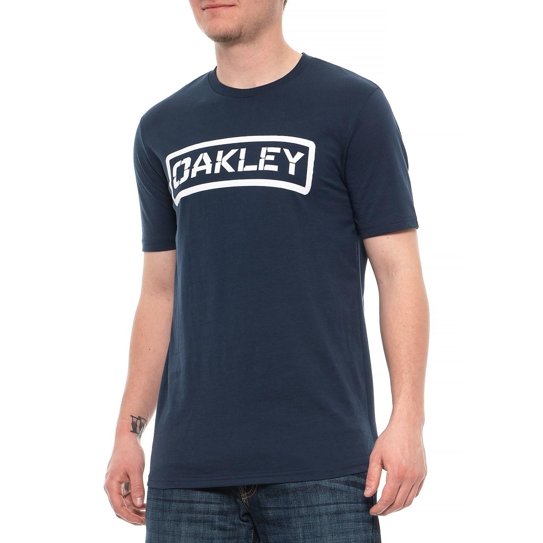 3a06671976 Oakley O-Tab T-Shirt - Short Sleeve (For Men) in Fathom ...