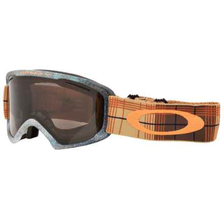 Oakley O2 XL Ski Goggles in Aberdeen Copper Rhone/Dark Grey - Closeouts