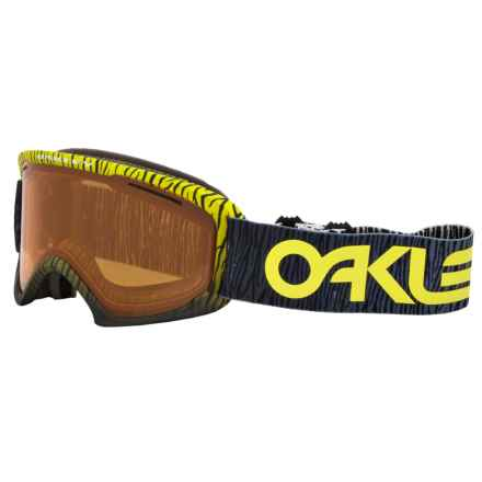 Oakley O2 XL Ski Goggles in Factory Pilot Bengal Yellow/Persimmon - Closeouts