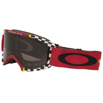 Oakley O2 XL Ski Goggles in Flight Series Mustang/Dark Grey - Closeouts