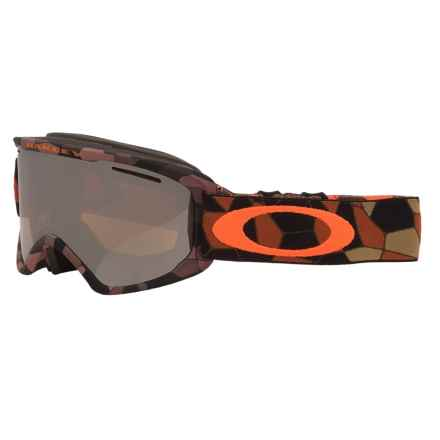 Oakley O2 XM Ski Goggles - Asia Fit in Cell Blocked Copper Orange/Black Iridium - Closeouts