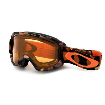 Oakley O2 XM Ski Goggles in Cell Blocked Copper Orange/Persimmon - Closeouts