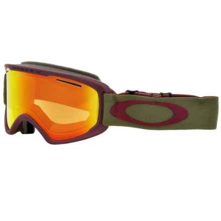 Oakley O2 XM Ski Goggles in Herb Rhone/Fire Iridium - Closeouts